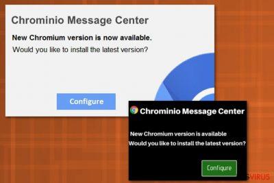 Virus ChrominioMessage Center
