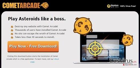 El virus Comet Arcade foto