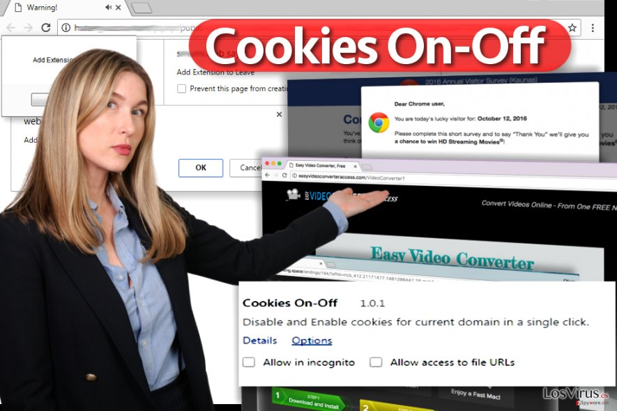 Virus Cookies On-Off