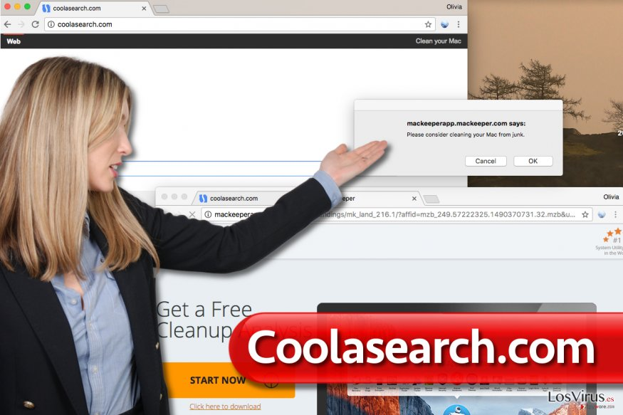 Virus Coolasearch.com