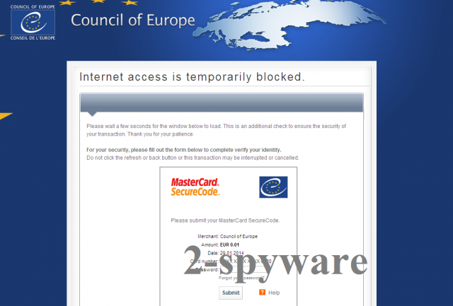 Council of Europe virus foto