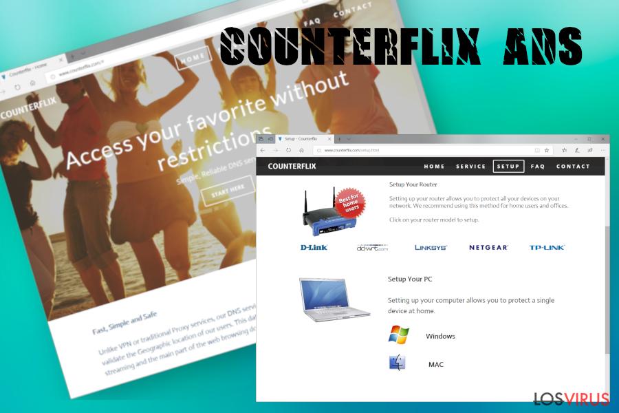 Anuncios de Counterflix foto