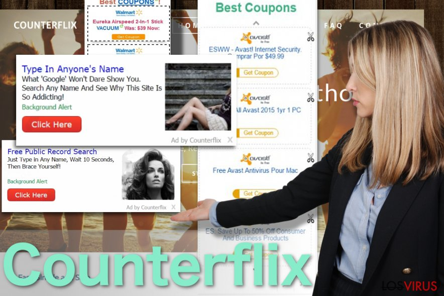 Imagen de los anuncios de Counterflix