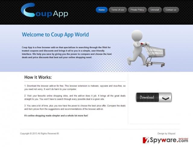 Los anuncios de Coup App foto