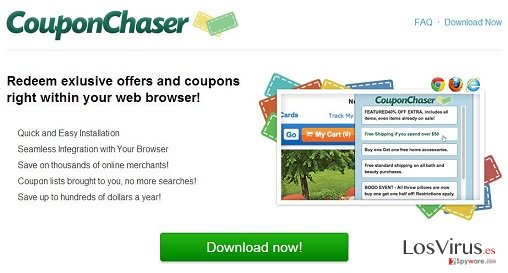 El virus Coupon Chaser foto