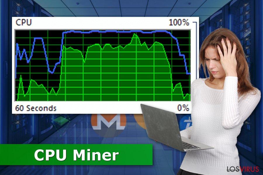 La imagen de CPU Miner