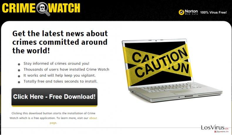 Los anuncios de  Crime Watch foto