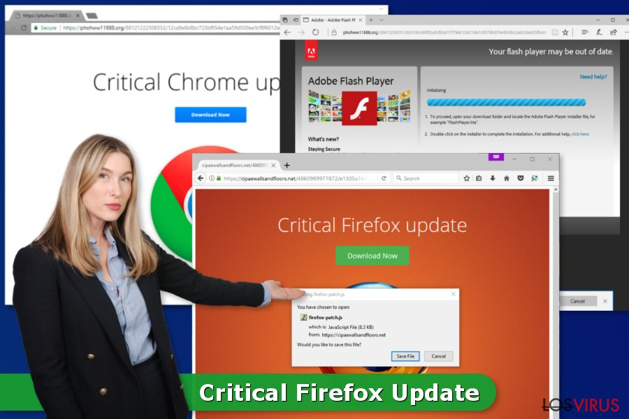 Virus Critical Firefox Update