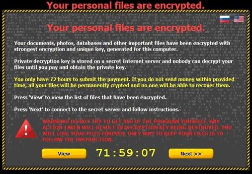 Critroni Ransomware foto