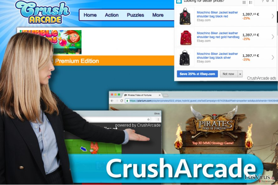 CrushArcade ads