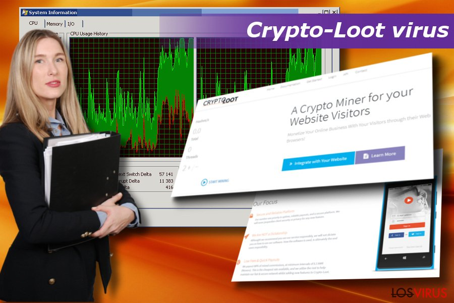 Virus Crypto-Loot