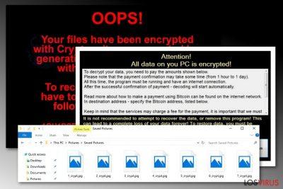 Ataque del virus Crypton