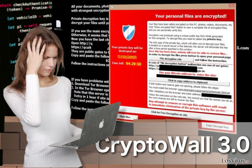 El virus CryptoWall 3.0 foto