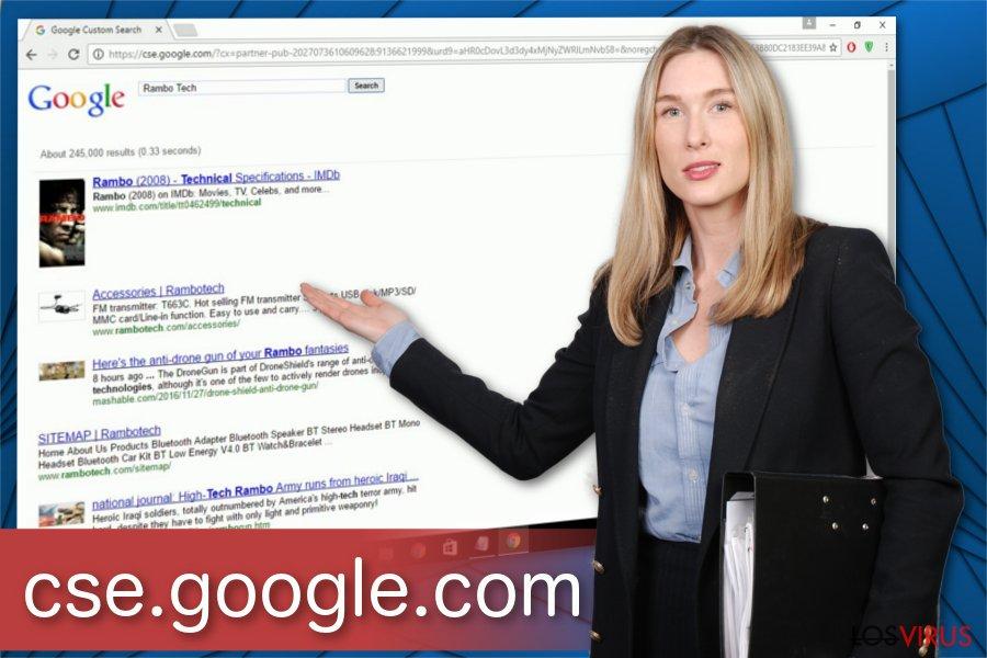 Ilustración del virus Cse.google.com