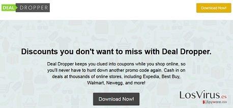 Los anuncios de Deal Dropper foto