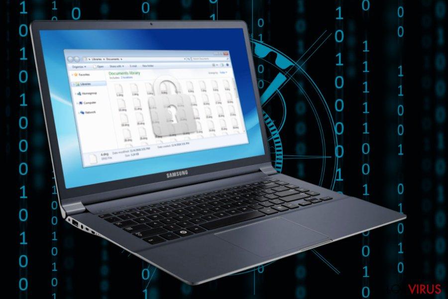 Imagen del ransomware Decrypthelp@qq.com