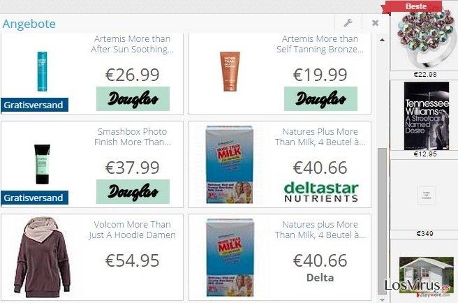 El adware DelightfulDeals foto