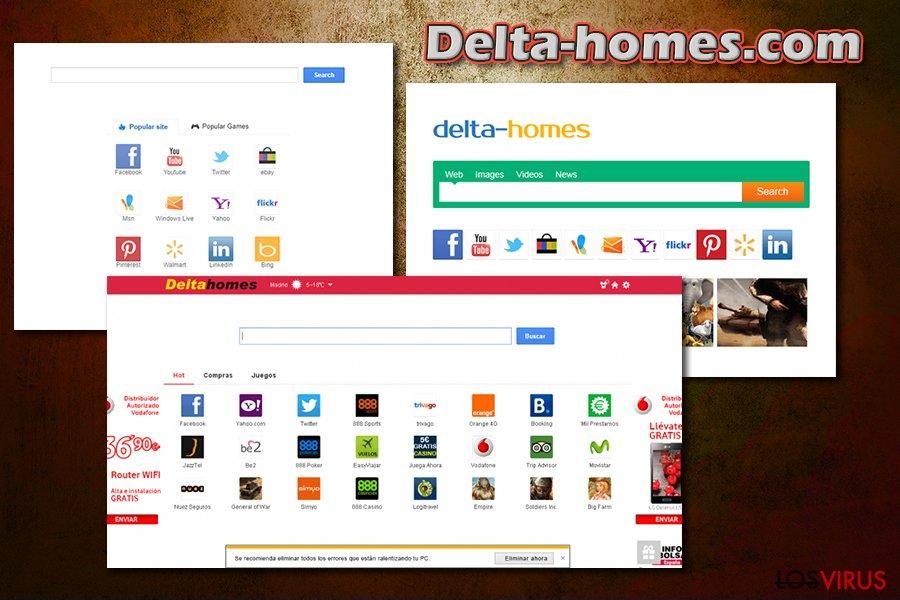 Delta-homes.com foto