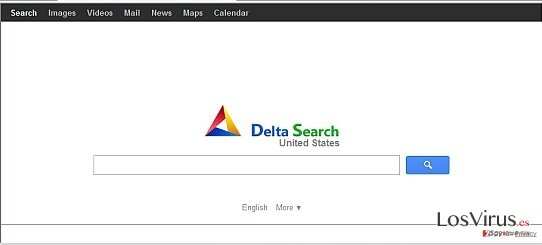 Delta-search.com redirect foto