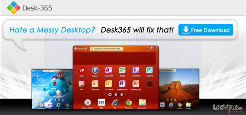 Desk 365 virus foto