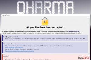 El virus Dharma