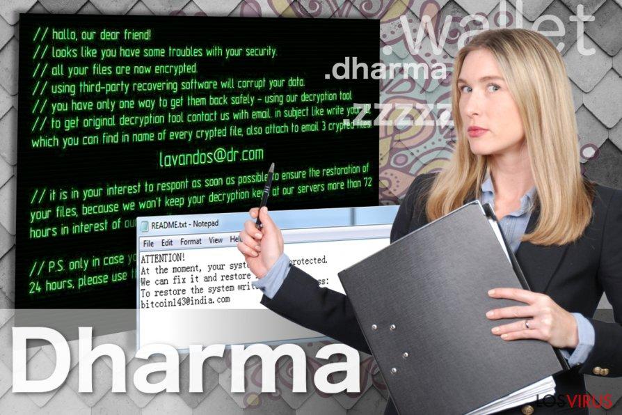 El virus Dharma foto