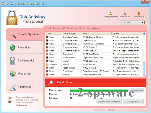 Disk Antivirus Professional foto