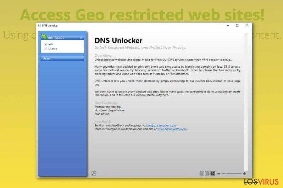 DNS Unlocker foto