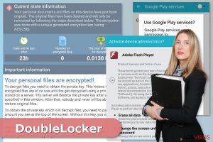 Virus ransomware DoubleLocker