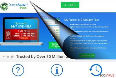 El ejemplo de DriverAgent Plus
