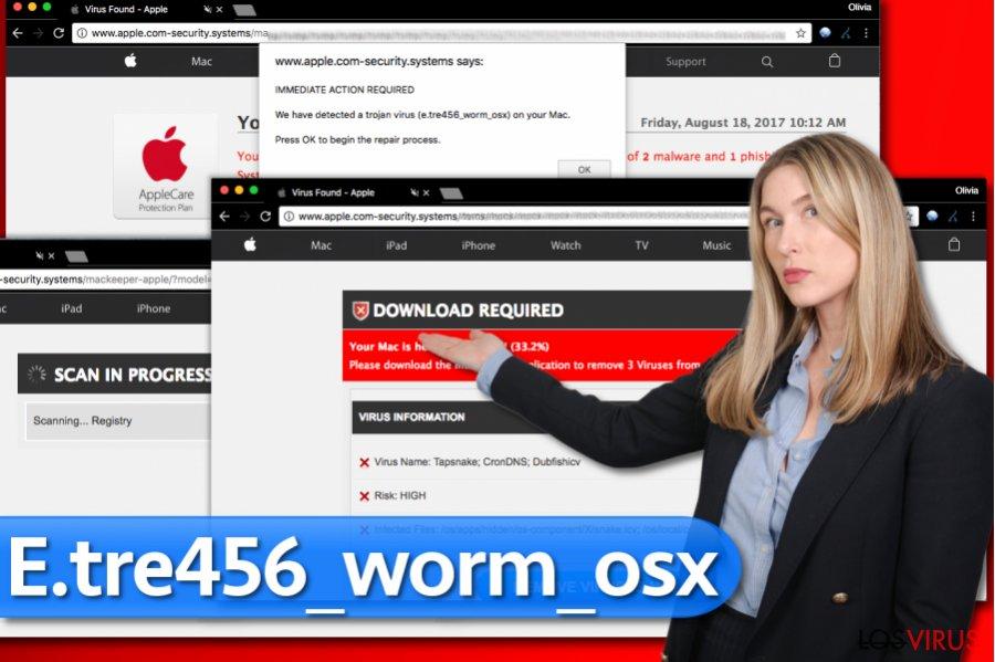 Virus E.tre456_worm_osx