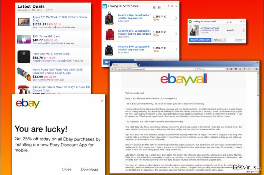 eBay virus variants