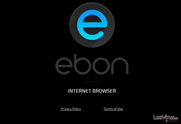 El virusEbon Browser foto
