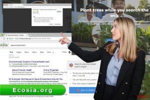 El virus Ecosia.org