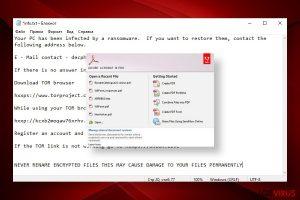 Eking ransomware