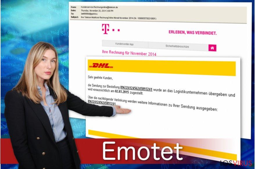 El troyano bancario Emotet se difunde a través de falsos mensajes sobre facturas