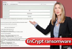 Virus ransomware EnCrypt
