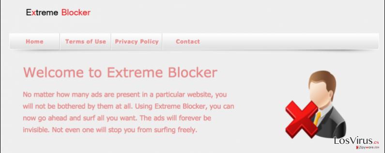 El virus Extreme Blocker foto