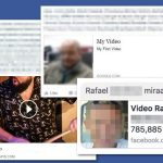 El virus Facebook video foto