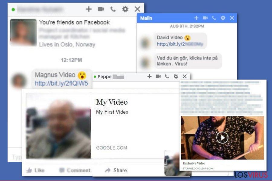 Virus de Facebook