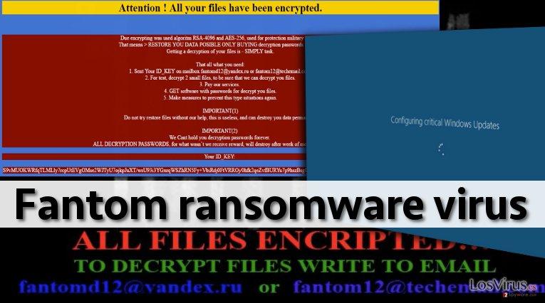 El virus ransomware Fantom