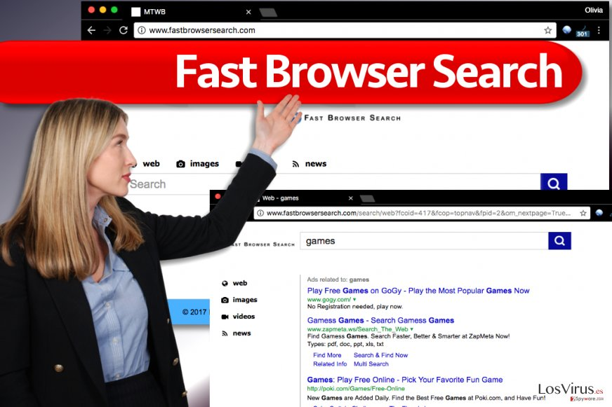 Virus Fast Browser Search