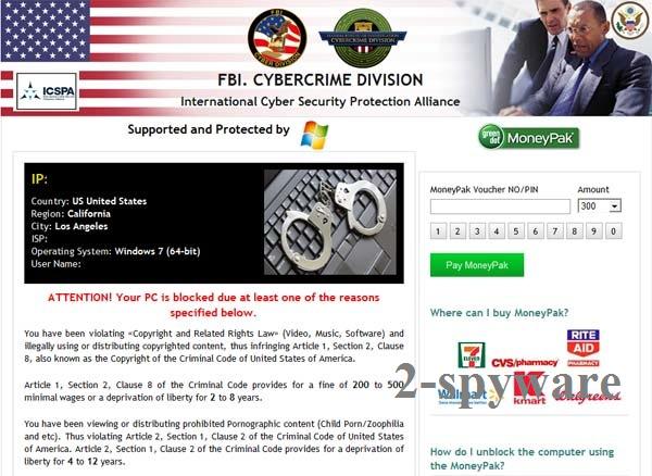 FBI Cybercrime Division virus foto