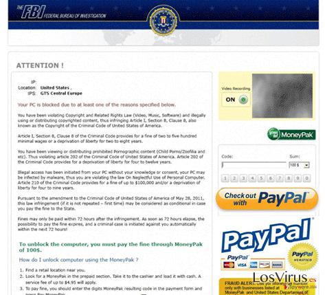 FBI PayPal virus foto