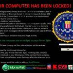 FBI Virus Black Screen foto