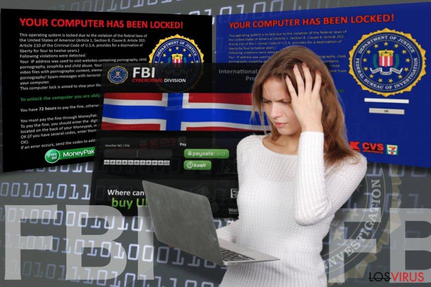 El virus FBI foto
