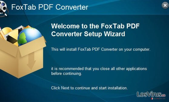 FoxTab Pdf Converter foto