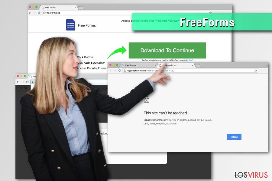 Hacker de navegador FreeForms