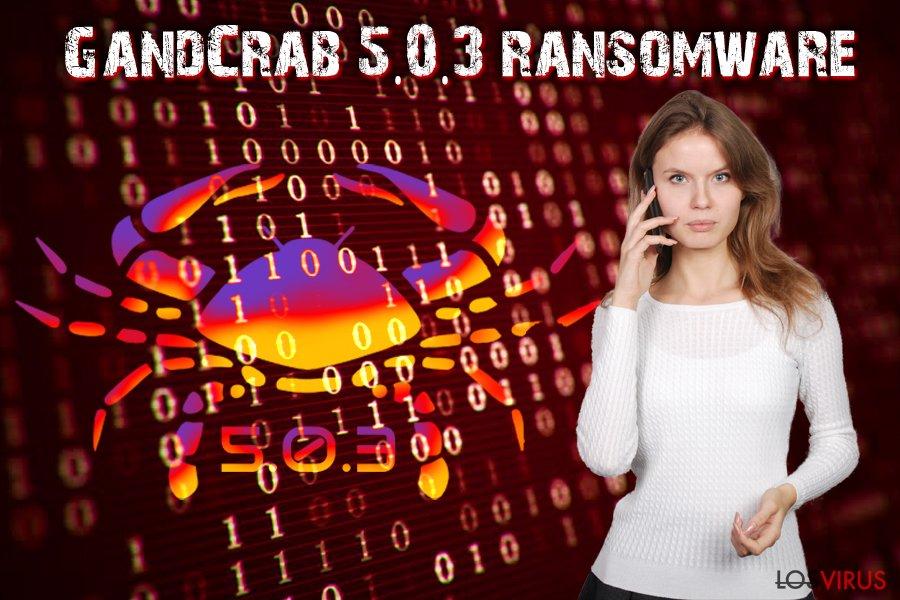 Virus GandCrab 5.0.3