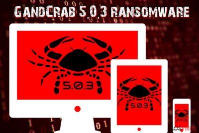 Ransomware GandCrab 5.0.3